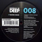 Master H Feat Alice Orpheus  'Out Of This Life Take 1 EP' (Komplex De Deep) / KDD008